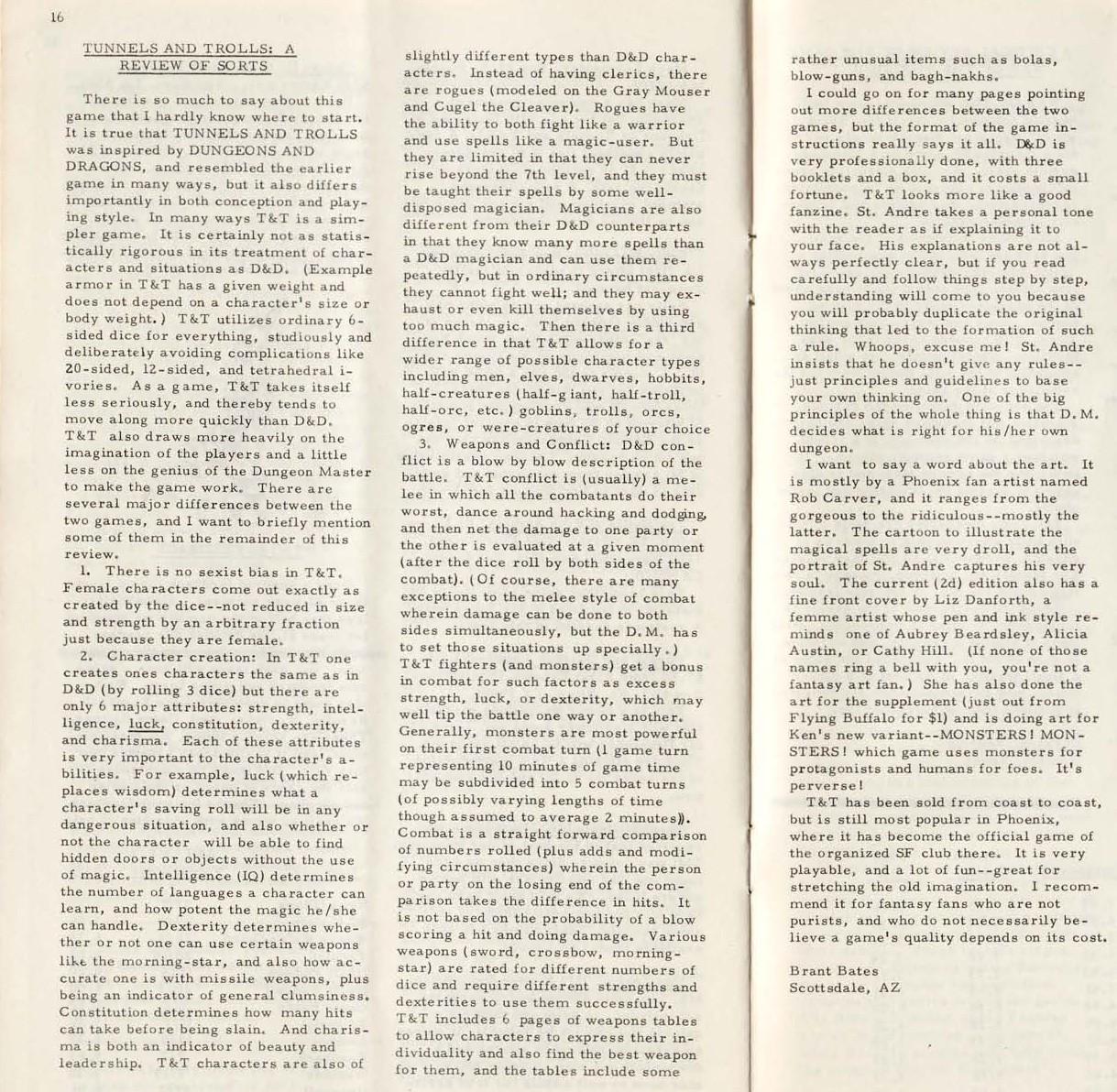 """Space Gamer"" #3 z1975 r."